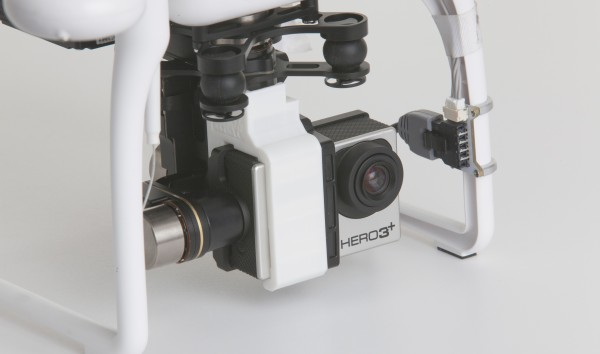 gimbal travel bracket